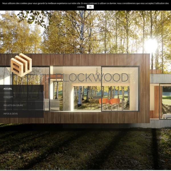 Blockwood – Maison en bois éco-pensée et modulaire – Rennes 35