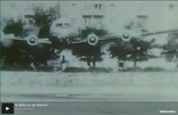 Le Blocus de Berlin - vidéo dailymotion