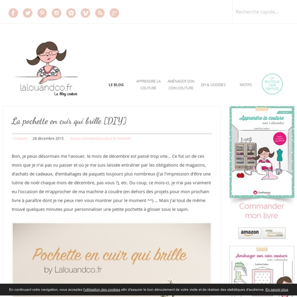 Lalouandco - Blog Couture & DIY