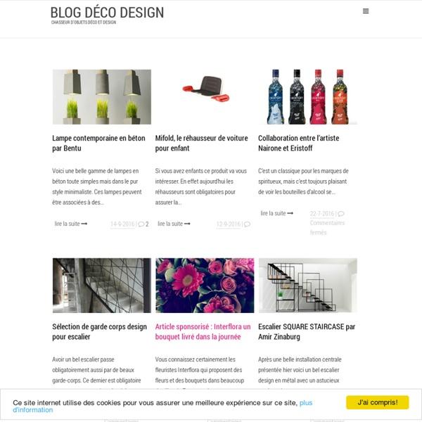 Blog Déco Design - Chasseur d'objets déco et design