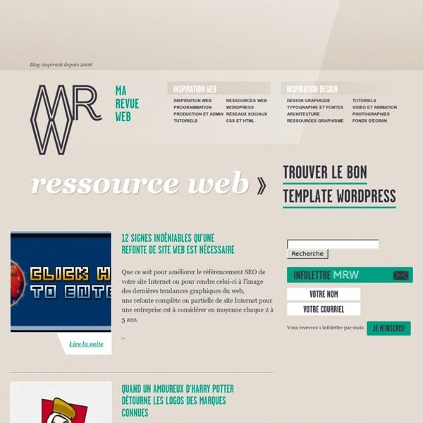 Blog Design Graphique