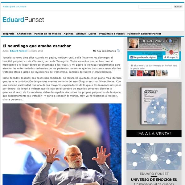Blog de Eduard Punset