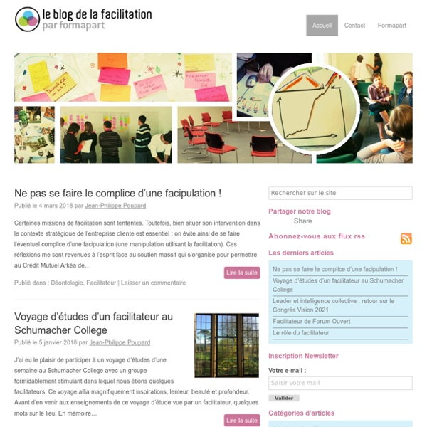 DLE Le blog de la facilitationLe blog de la facilitation