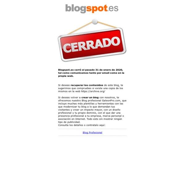 Blog gratis en blogspot.es