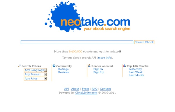 Neotake: Your ebook search engine