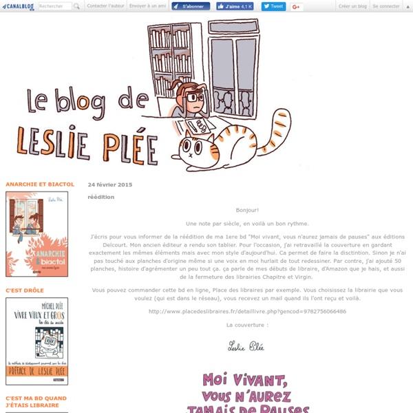 Le blog de Leslie Plée