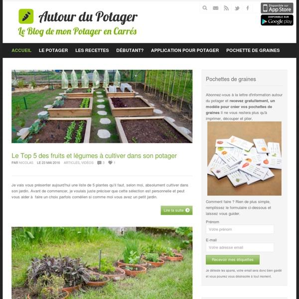 Le blog du potager en carré