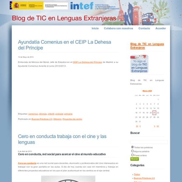 Blog de TIC en Lenguas Extranjeras