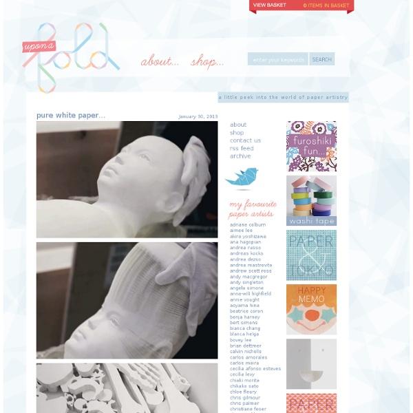 Blog - upon a fold
