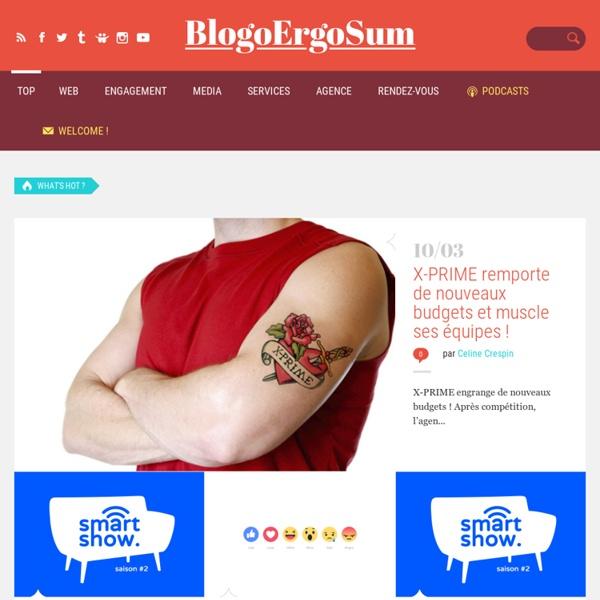 Blogoergosum - Blog dédié aux nouvelles technologies, création, design et marketing