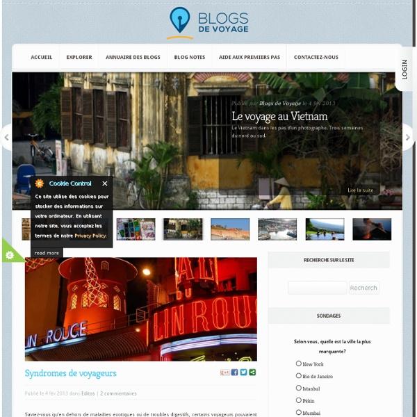 Blogs de voyage avec Expedia.fr : Votre blog gratuit en 2 minutes