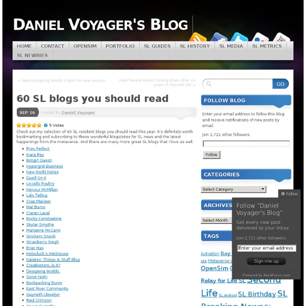60 SL blogs you should read
