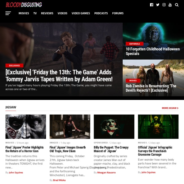 Bloody Disgusting! - Your #1 Source For All Things Horror
