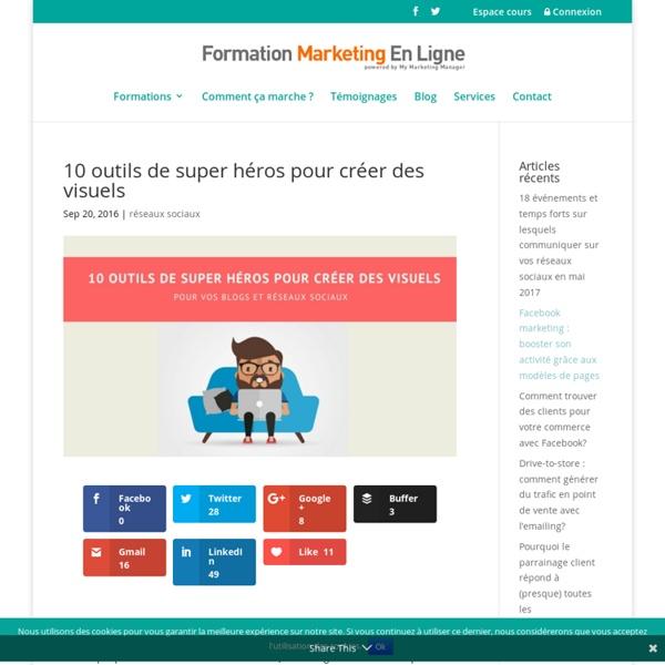 10 outils bluffants pour créer des visuels sur les réseaux sociaux