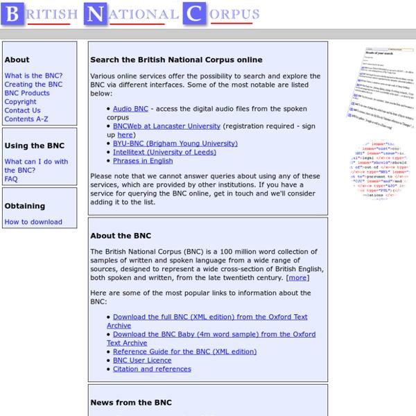 [bnc] British National Corpus