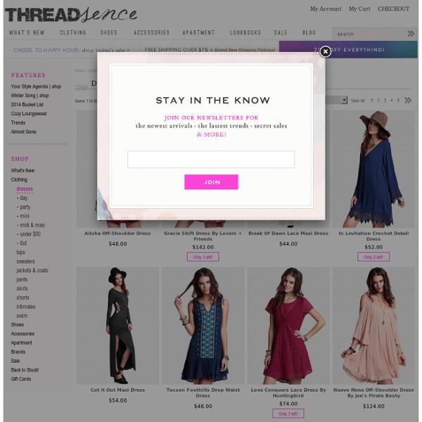 Women's Indie & Bohemian Dresses: Free People, UNIF, BB Dakota & more