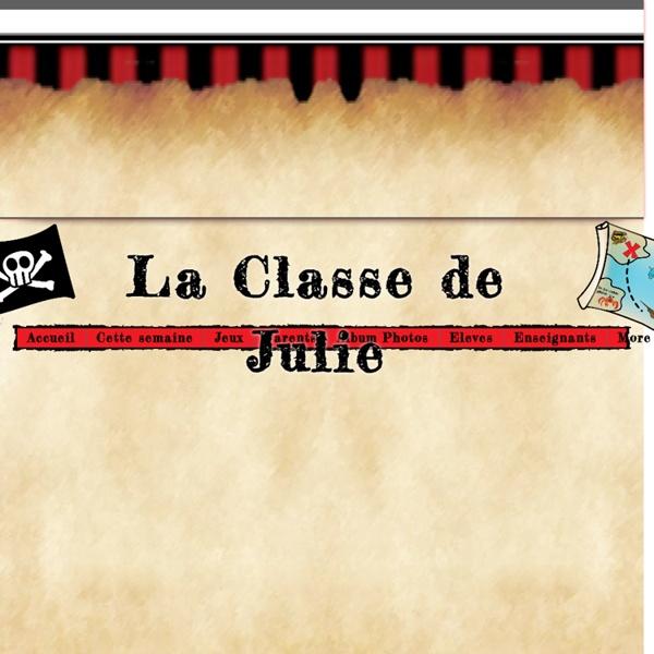 La classe de Julie, Julie Boisclair, enseignement primaire