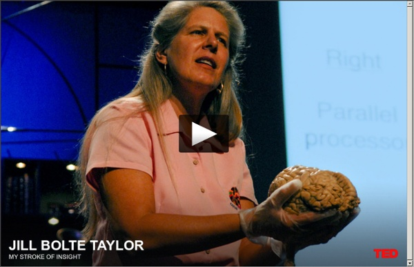 A poderosa revelação pelo derrame de Jill Bolte Taylor