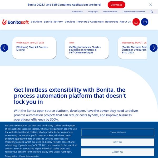 Bonitasoft - Open Source Workflow & BPM software