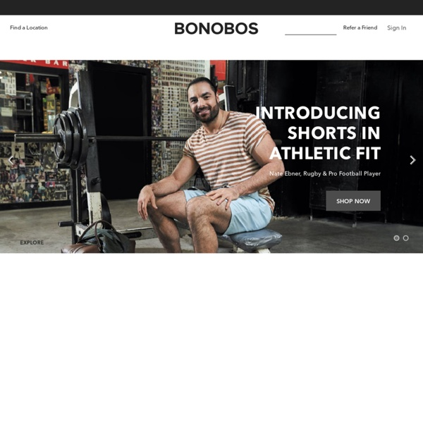 Bonobos Men's Clothes - Pants, Shirts and Suits