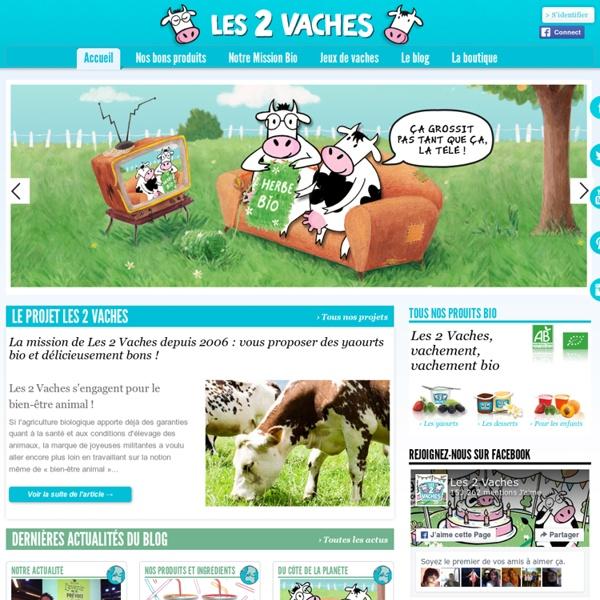 Les 2 Vaches - Produits laitiers