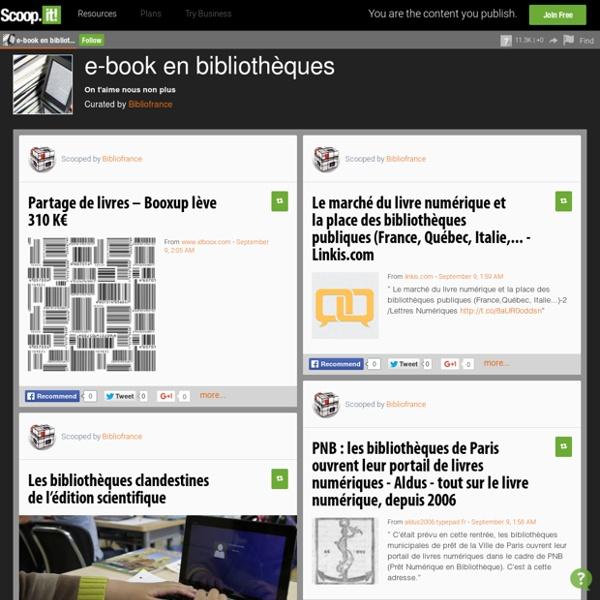 E-book en bibliothèques