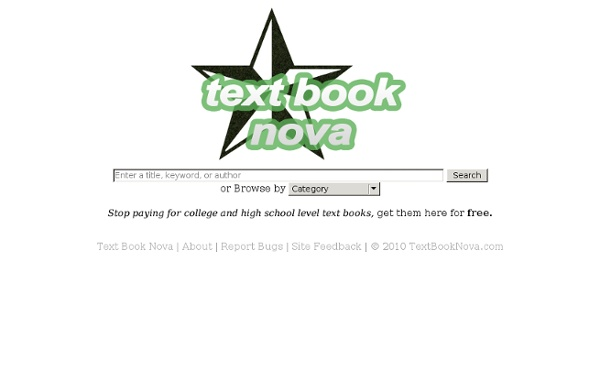 Book Nova Free Text Book Torrents