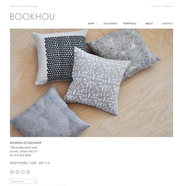 Bookhou-modern handmade art and design