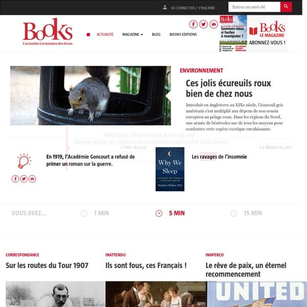 Books: l'actualité par les livres du monde
