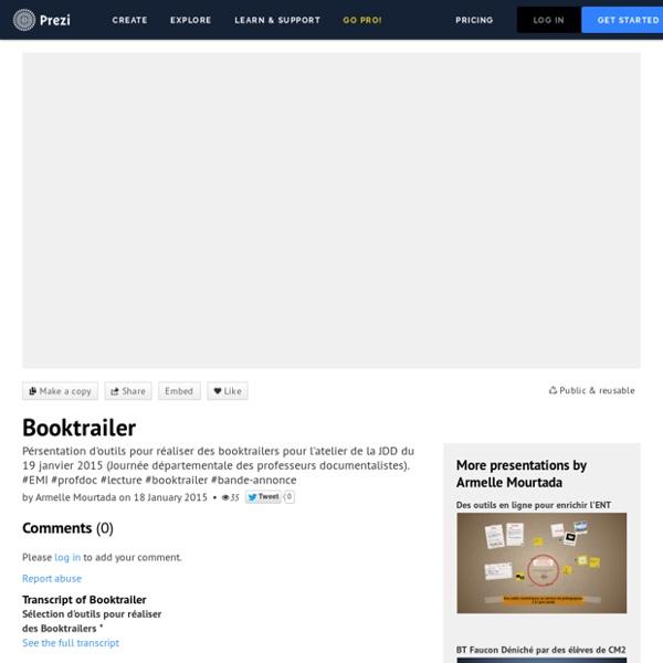 Booktrailer by Armelle Mourtada on Prezi