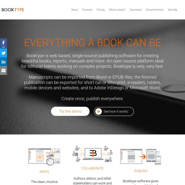 Open Web Publishing