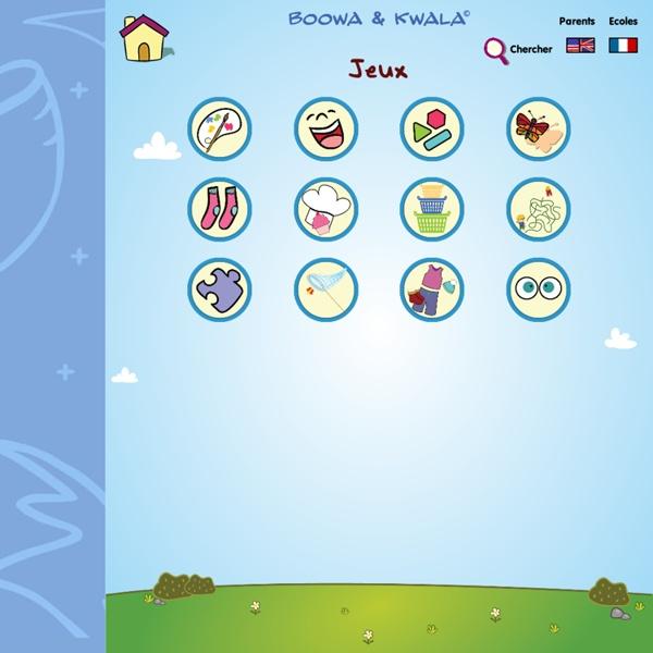 Boowa et Kwala - L'index des jeux