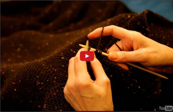 Bordure en i-cord : une méthode de paresseuse