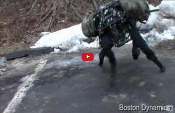 Boston Dynamics Big Dog (new video March 2008)