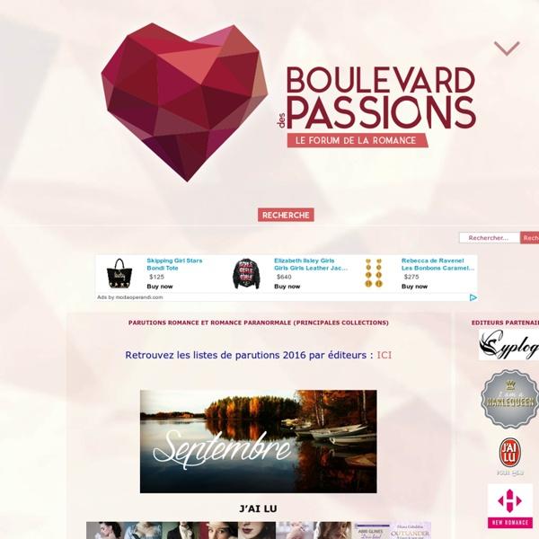Boulevard Des Passions, le Forum. - Portail