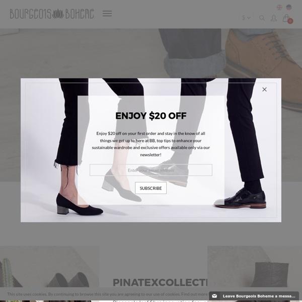 Bourgeois Boheme - Vegan & Ethical Shoes