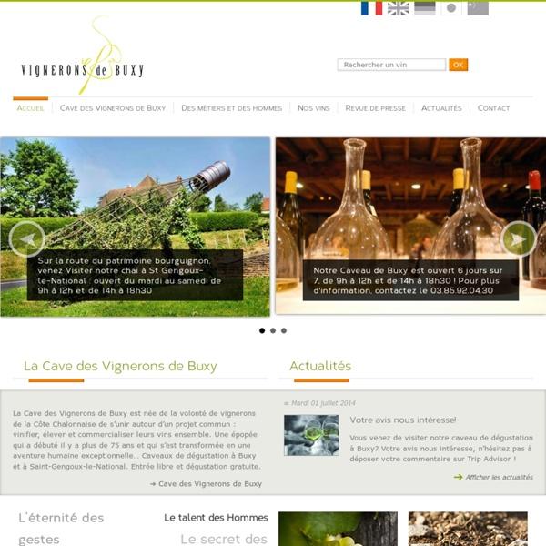 Vins de Bourgogne - Cote Chalonnaise - Les Vignerons de Buxy