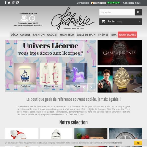 La Geekerie - la boutique Geek de référence