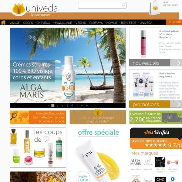 La boutique du luxe naturel - univeda