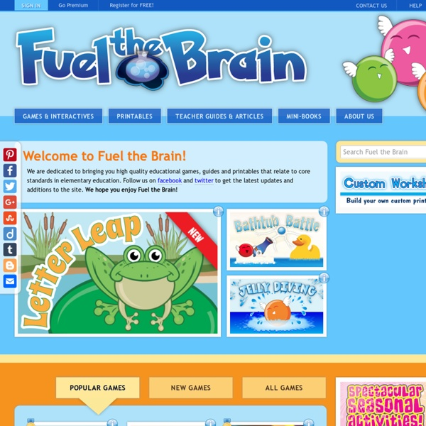 Educational Games and Resources