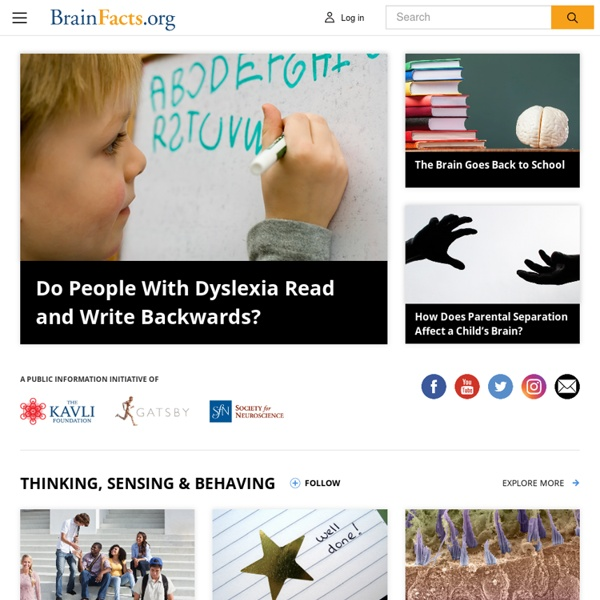 BrainFacts.org Homepage