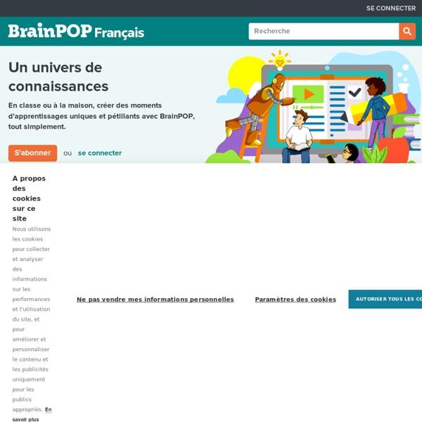 Brain POP. Apprendre en vidéo