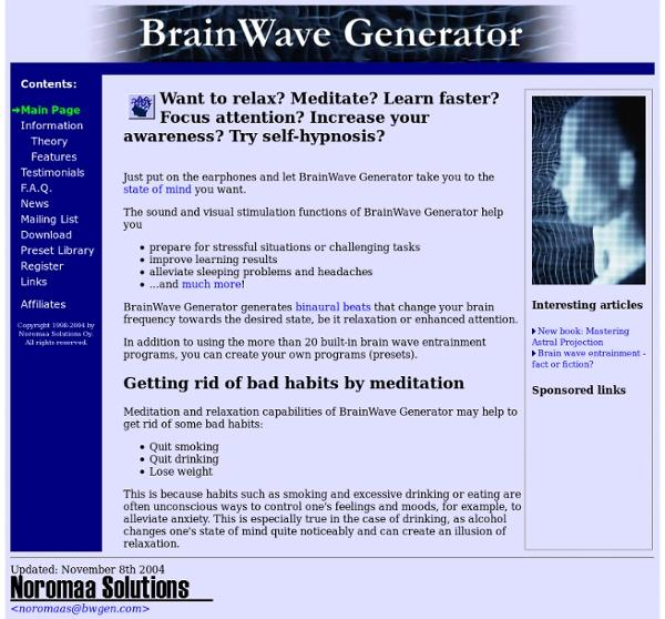 BrainWave Generator