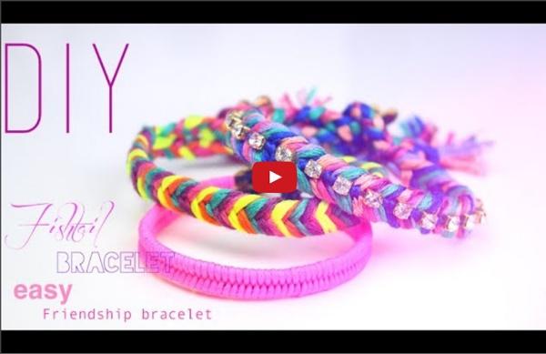DIY-TUTO : BRACELETS BRESILIENS EPIS DE BLE / Fishtail bracelet friendship bracelet (english subs)