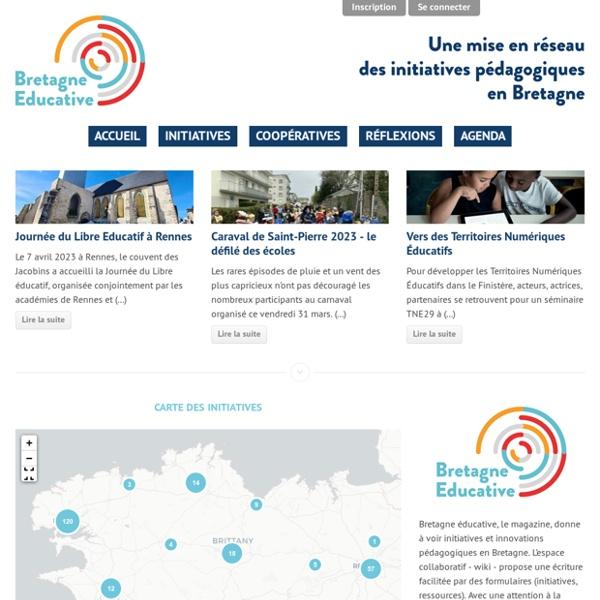 Bretagne Éducative - Une mise en réseau des initiatives pédagogiques en Bretagne