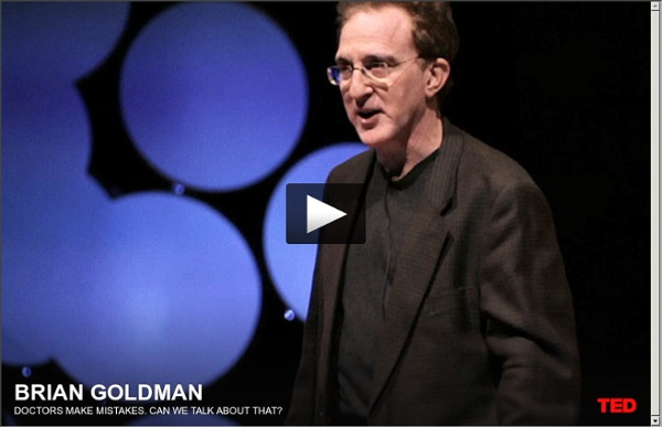 Brian Goldman: Doctors make mistakes. Can we talk about that?