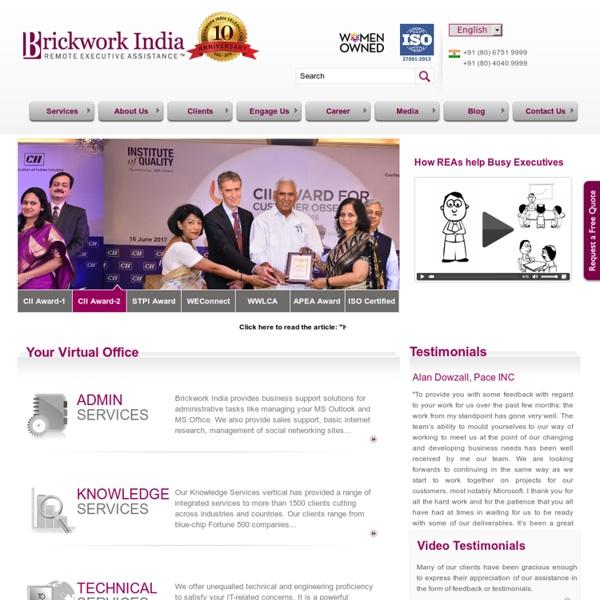 IT Services - Brickwork India