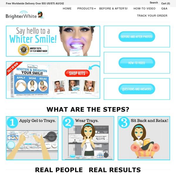 Best Teeth Whitening Kits, Gel & Teeth Bleach Products
