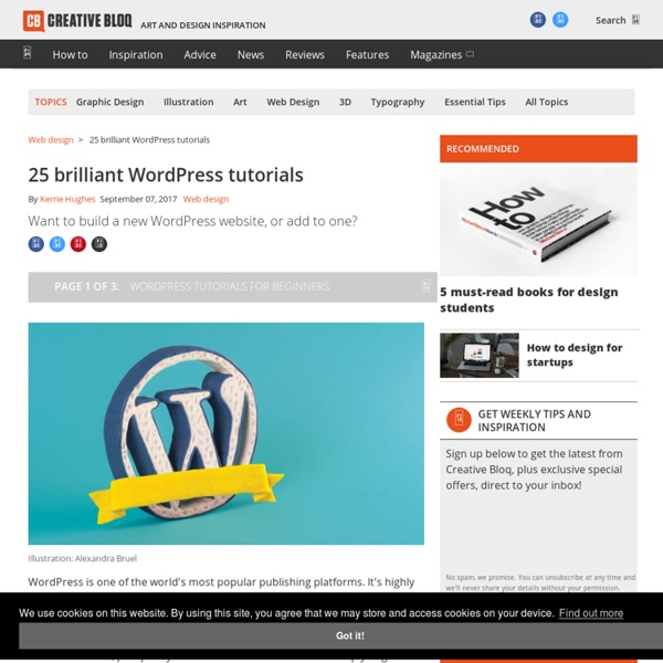 60 brilliant WordPress tutorials