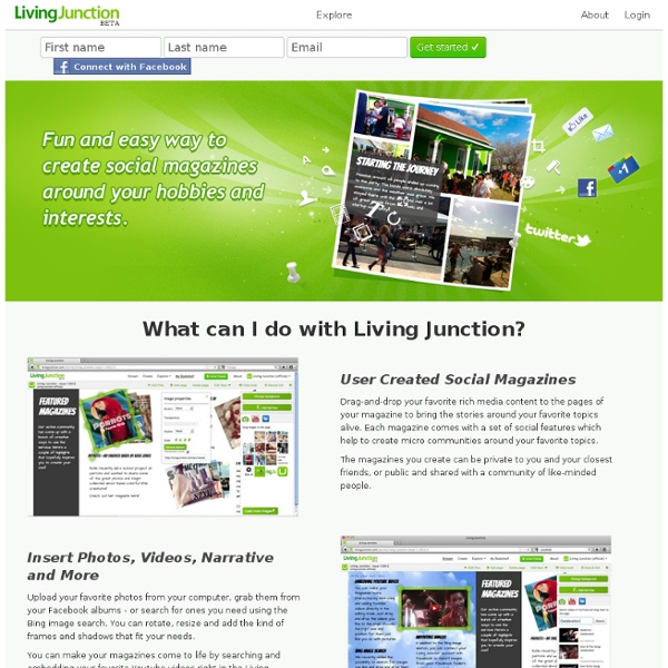 Bring your passions to life! - Living Junction